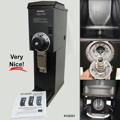 Bunn 22100.0000 G3 Hd 3 Lb. Commercial Bulk Coffee Grinder - 120v