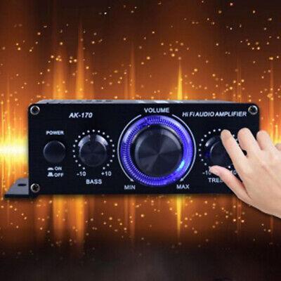 400W Amplificador de Potencia Hifi Estéreo Home Audio Digital Coche Amp