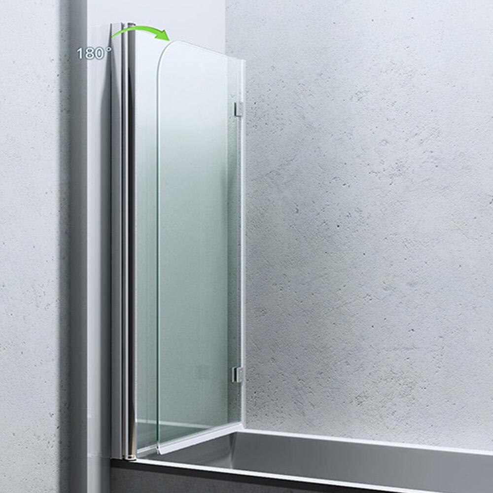 paroi pare douche porte de douche pour baignoire verre de s curit cortona 1408 eur 159 95. Black Bedroom Furniture Sets. Home Design Ideas