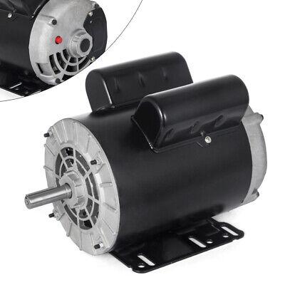 3hp 1 Phase Electric Motor For Air Compressor 58 Shaft 14.7 Amp 56 Frame 230v