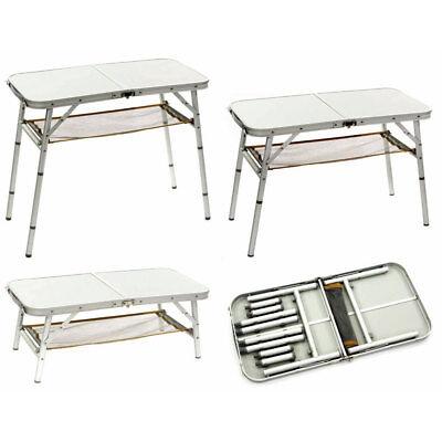 BoCamp Camping Beistelltisch Tisch Alu Campingtisch Kla… |