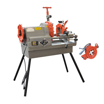 Pipe Threading Machine 12 To 4 Npt Automatic Threader Cutter 1hp