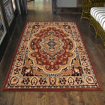 Teppich Orient Perser Orientalisch in Braun - Läufer XXL 200x300 300x400 mehr