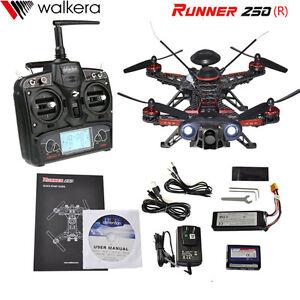 Walkera Runner 250 Advance GPS Version 5 FPV Drone + DEVO 7 & 800TVL Camera OSD