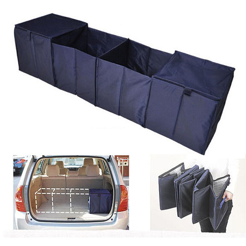 Collapsible Car Cargo Suv Organizer Trunk Storage Bag