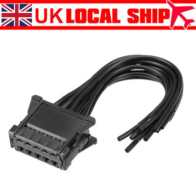 Heater Blower Resistor Wiring Loom Harness Connector For Renault Clio Scenic