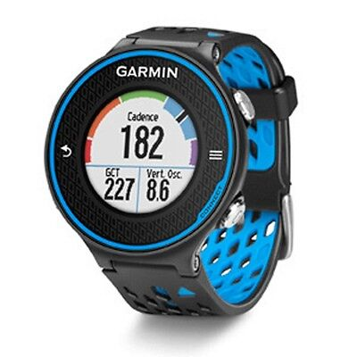Garmin Forerunner 620 Blue Black Color Touchscreen Gps Run Watch 010 01128 00