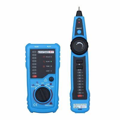 Portable Rj11 Rj45 Ethernet Lan Cable Tester Cable Finder Signal Detector