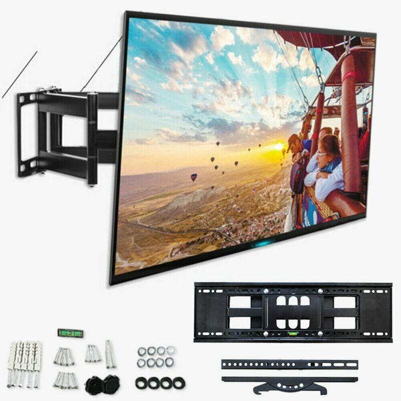 FULL MOTION TV WALL MOUNT TILT SWIVEL LCD LED 32 42 46 47 50 55 60 65 70 75inch