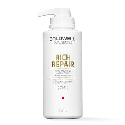 (39,98€/L) Goldwell Dualsenses Rich Repair Restoring 60sec Treatment 500ml ()
