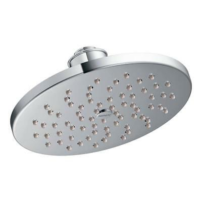 (MOEN 1-Spray 8 in. Rainshower Showerhead Featuring Immersion in Chrome)