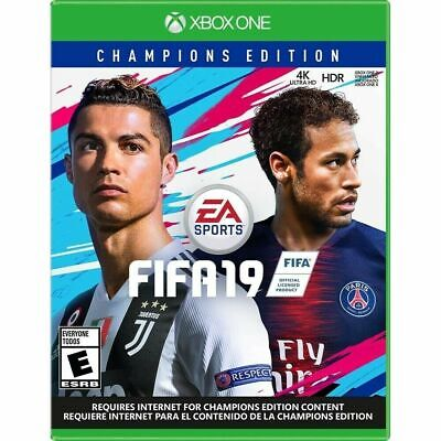 FIFA 19 - Champions Edition - Xbox One Brand New Factory Sealed