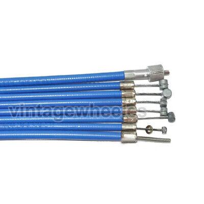 Lambretta Sx-Tv-Li Seires 3 Completo Forro Nylon Fricción Sin Cable Kit Set...