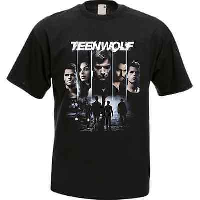 Teen Wolf Movie Tv Series Black Men's T-Shirt Tee - Teen Wolf Shirts