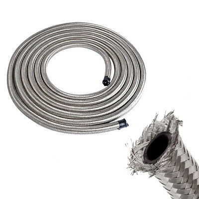 Fuel Line Double Braided Stainless Steel Fuel/Oil/Gas Line Hose Various Size Double Braided Stainless Steel Hose