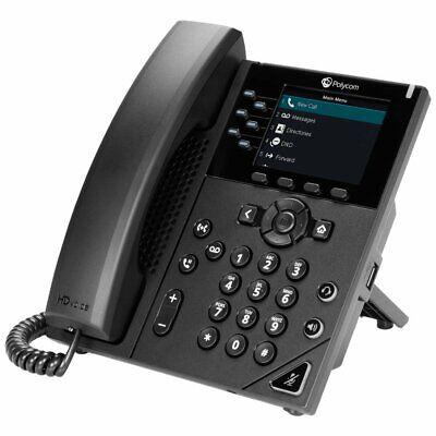 Polycom Plantronics VVX 350 VOIP Business Media Phone 2200-48830-025