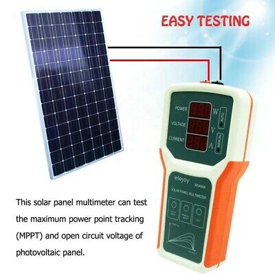 Small 0.1-400w Multimeter Photovoltaic Panel For Open Circuit Voltage Detection