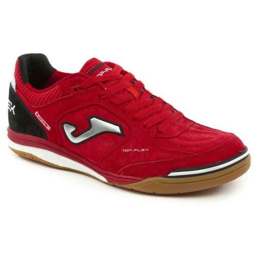 JOMA TOP FLEX NOBUCK 826 RED INDOOR