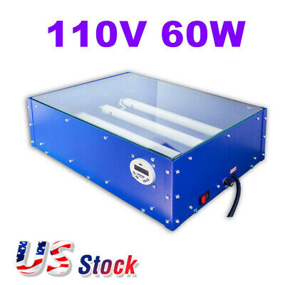 110v 60w 18x12in Uv Exposure Unit Silk Screen Printing Plate Making Silk Screen