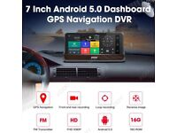 BRILLIANT Android DashCam with two cameras, GPS Location, 3G, superb and 100% working reversing cam