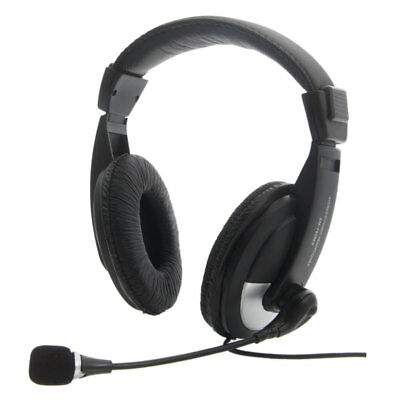 New Headset gaming Microphone/Headphone with 3.5mm for PC Laptop Computer