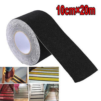4 X 65.6 Black Roll Safety Non Skid Tape Anti Slip Tape Sticker Grip Safe Grit
