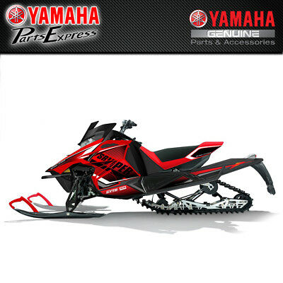 NEW YAMAHA SIDEWINDER SRVIPER GRAPHIC WRAPS (RED) RACE GRAPHIC SMA-8JPWR-0B-00
