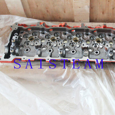 Isuzu 6HK1 Electric Injection Cylinder Head&Full Gasket Set Valves & Valve Seats