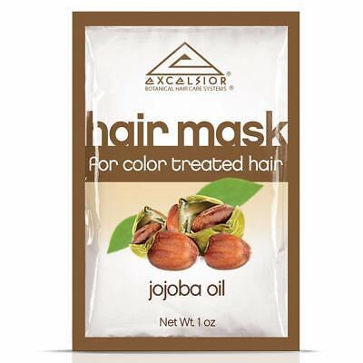 excelsior jojoba oil hair mask pkt color