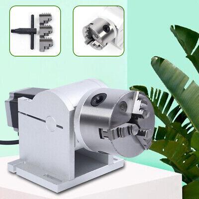 Laser Marking Machine 80mm Rotary Axis Cnc Engraving Machine Rotating Shaft Usa