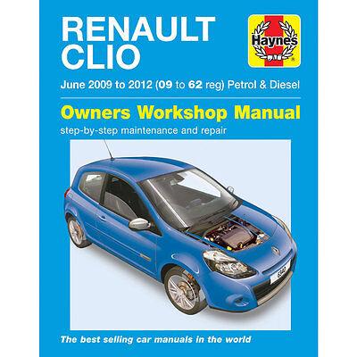 Renault Clio 1.2 1.6 Petrol 1.5 Diesel 09-12 (09-62 Reg) Haynes Manual