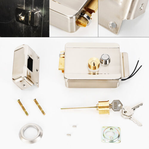 NEW Universal Electronic Door Lock for Door Intercom Access Control System DC12V