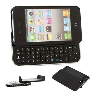 Bluetooth-Wireless-Rechargeable-Sliding-Keyboard-Case-for-iPhone-4-4G-4S-Black