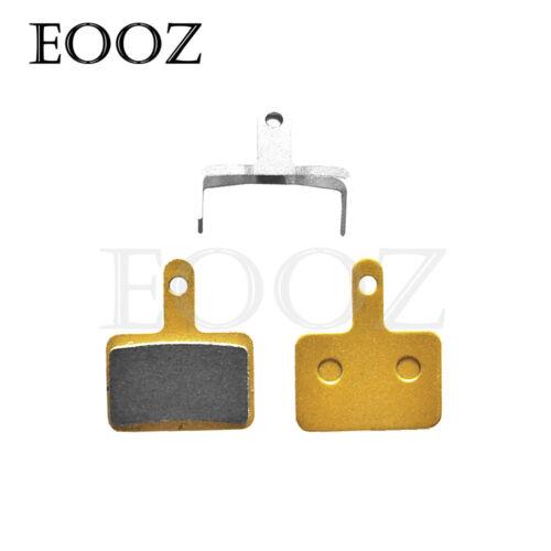 2//4x METAL Bicycle Metallic DISC BRAKE PADS for SHIMANO B01S M515 M445 M525