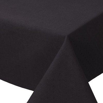 (Now Designs Basic Spectrum Black Tablecloth, 60