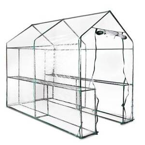 NEW FREE SHIPPING - Greenhouse with Transparent PVC Cover - 1.9M Silverwater Auburn Area Preview