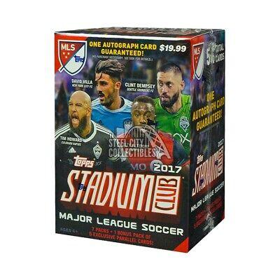 2017 Topps Stadium Club MLS Soccer 8ct Blaster Box