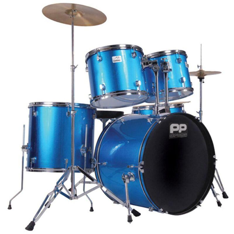 PP 5PC DRUM KIT- BLUE