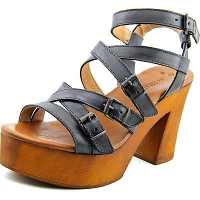 Musse   Cloud Malena Women  Open Toe Leather  Platform Sandal