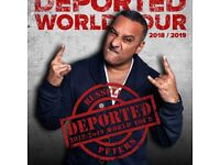 Russell Peters x2 tickets - Thursday 26th April - SSE Arena Wembley * GREAT SEATS *