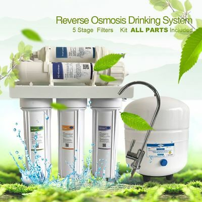 Undersink Reverse Osmosis - 50/75/100/150GPD 5-STAGE REVERSE OSMOSIS RO WATER FILTER SYSTEM KITCHE UNDERSINK