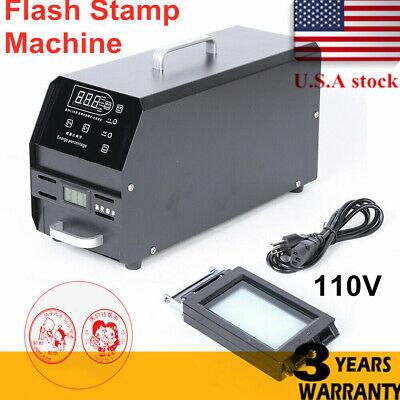 Digital Photosensitive Seal Self Inking Flash Stamp Seal Maker Sealing Machine