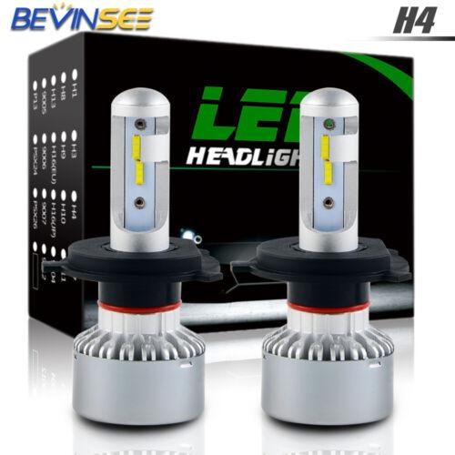 9003 LED Headlight For Yamaha RXW10 Attack 2006-2007 Hi/Low Beam H4 White Bulbs