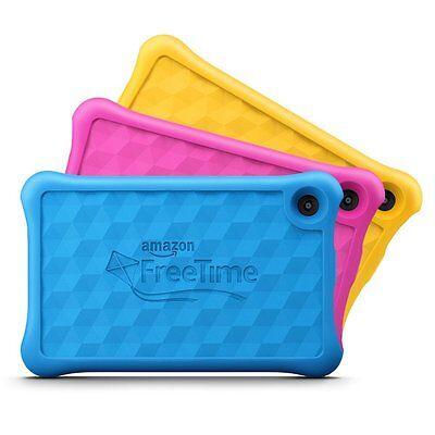 All New Amazon Fire Hd 8 Kids Edition Tablet W Alexa 8  Display 32 Gb Kid Proof