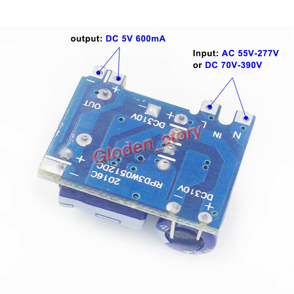 Mini Ac Dc Converter 110v 220v 230v To 5v 600ma Switching Power Circuit Board Smps Tablet Isolated Supply