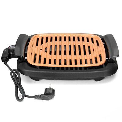Parrilla Sin Humos de Cobre Portatil Potente Grill Resistente Barbacoa Eléctrica