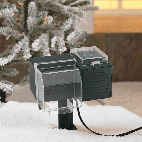 Mr Christmas Outdoor Lights & Sounds of Christmas - Synchronize Christmas Lights