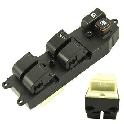 Power Master Window Switch Front LH Driver Side For Toyota Corolla Camry - Driver Side Master Window Switch