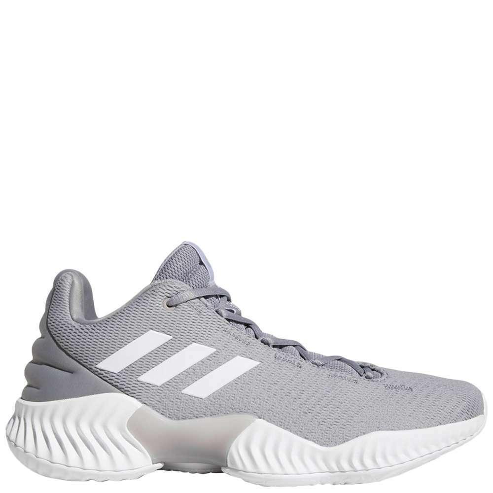 Adidas Pro Bounce 2018 Low Men's [ Grey ] Basketball - MAH2676