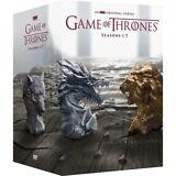 Game of Thrones Seasons 1-7 (DVD 2017, 34-Disc) DVD 1 2 3 4 5 6 7 Box set New